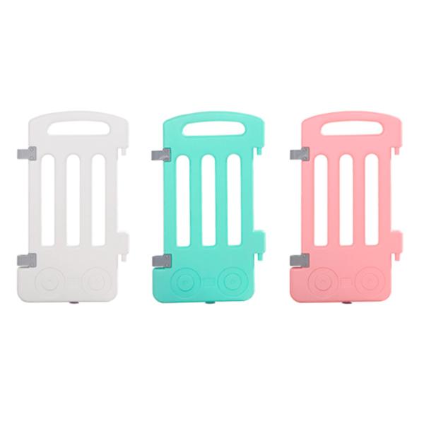 Baby-Playpen-Panels-White-Green-Pink